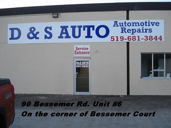 D And S Auto >> D S Auto Ltd In London Ontario Canada